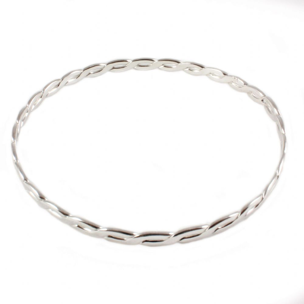 ladies real pure mhs sun jewelry simple bracelet women from item sterling bangles silver for snowflake in fashion craft